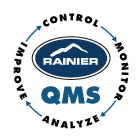 Rainier Quality Management System policy logo.